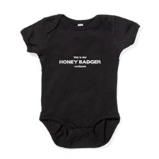 This Is My HONEY BADGER Costu Baby Bodysuit