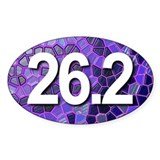 Super Unique 26.2 PURPLE version Decal
