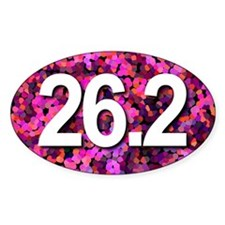 Super Unique 26.2 PINK version Decal