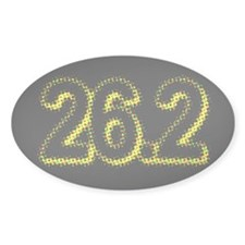 Super Unique 26.2 POP ART yellow color Decal
