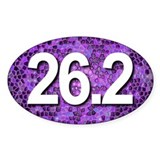Super Unique 26.2 PURPLE color Decal