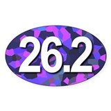 Super Unique 26.2 Violet Color Decal