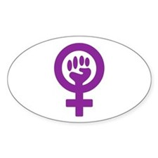 FEMINISM Rectangle Decal