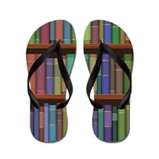 Librarian Book Lover Flip Flops