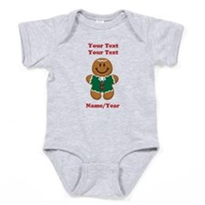 Personalize Gingerbread Baby [elf] Baby Bodysuit