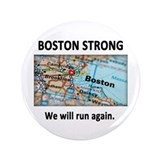 "Boston Strong Map 3.5"" Button"