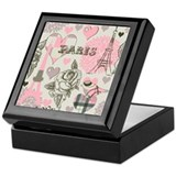 Beautiful Paris Keepsake Box
