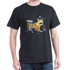Cool Drum Set (gold version) T-Shirt