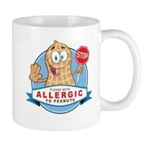 Allergic to Peanuts Mug