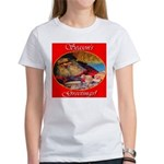 Season's Greetings Santa Women's T-Shirt