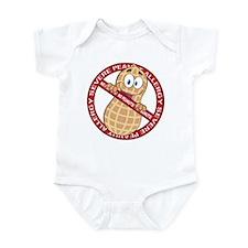 Severe Peanut Allergy Infant Bodysuit