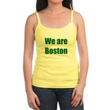 We are Boston - green Tank Top