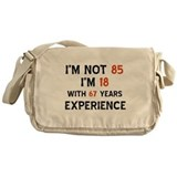 85 year old designs Messenger Bag