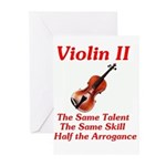 Violin II Greeting Cards (Pk of 10)