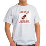 Violin II Ash Grey T-Shirt