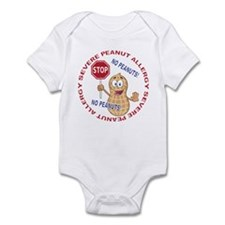 Severe Peanut Allergy Infant Bodysuit