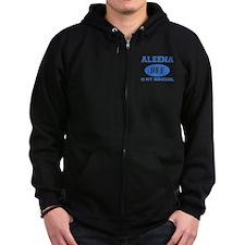 Aleena BFF designs Zipped Hoodie