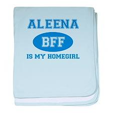 Aleena BFF designs baby blanket