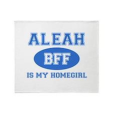 Aleah BFF designs Throw Blanket