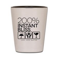 200% Instant Bliss Shot Glass