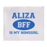 Aliza BFF designs Throw Blanket