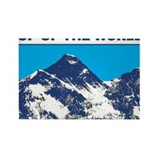 Mount Everest Printed Rectangle Magnet (10 pack)