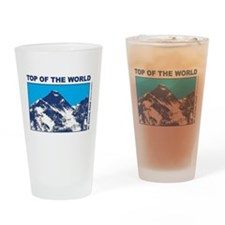 Mount Everest Printed Drinking Glass