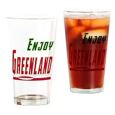 Greenland Designs Drinking Glass