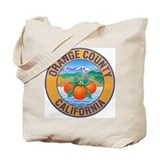 Orange County California Tote Bag