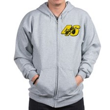 46ghostmini Zip Hoody
