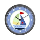Aaron Sailboat Clock Wall Clock
