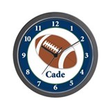 Cade Football clock Wall Clock