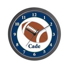 Cade Football clock Wall Clock