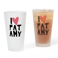 Pitch Perfect Fat Amy Drinking Glass