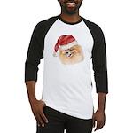Christmas Pomeranian Baseball Jersey