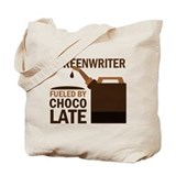 Screenwriter Chocolate Tote Bag