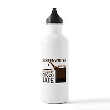 Screenwriter Chocolate Water Bottle