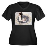 Barack and Michele Obama Women's Plus Size V-Neck