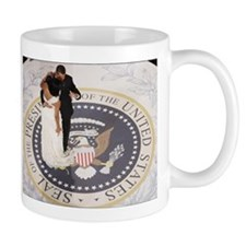 Barack and Michele Obama Mug