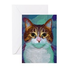 Classical Cat Greeting Cards (Pk of 10)