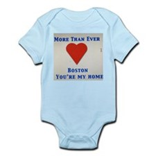 Support our wonderful town, Boston Infant Bodysuit