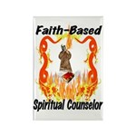 Spiritual Counselor Rectangle Magnet (100 pack)