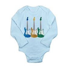 Three Electric Guitars Body Suit