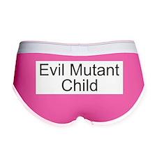 Cute Evil child Women's Boy Brief