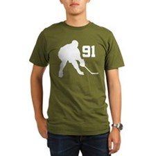 Hockey Player Number 91 T-Shirt