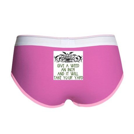 Give a Weed an Inch Women's Boy Brief