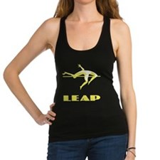 Pole Vaulting Racerback Tank Top