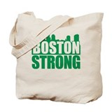 Boston Strong Green Tote Bag