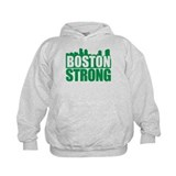 Boston Strong Green Hoodie