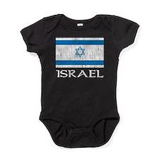 Israel Flag Baby Bodysuit